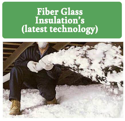 Blown-in Fiber Glass Insulation